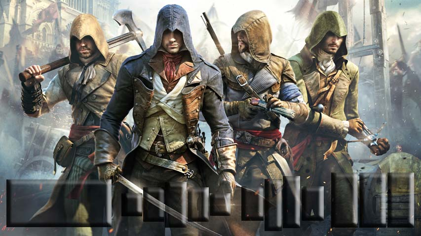 Assassins Creed Unity Crack only RELOADED - YouTube