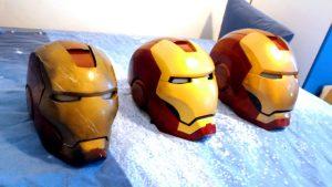 Iron Man Helmets