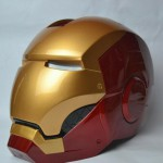 Iron Man Helmet ABS, apertura Manuale, con Led
