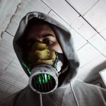 2N-2G Gas Mask, Cyber Neon Toxic Green! Scenario Post apocalittico per costumi cyberpunk – LARP – Clubwear