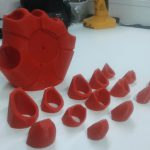 Mani Iron Machine, stampate 3D