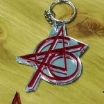 Portachiavi Avengers tattoo – Original 6 – in plexyglass