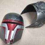 Darth Sith Knighs Mask  V1, Raw cast – Painted Cosplay LARP 1:1